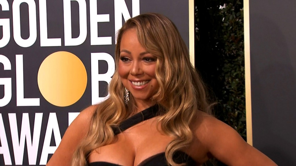 On the carpet and stage at the 75th Golden Globes