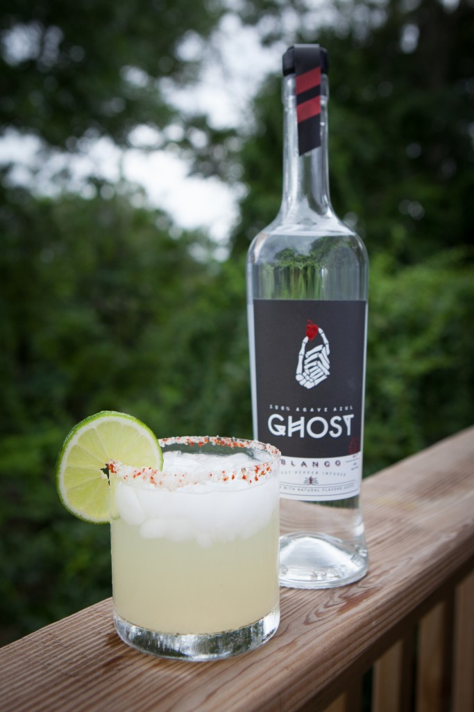 Ghost spicy margarita