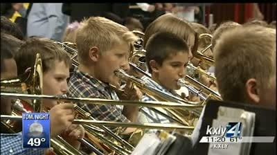Spokane Arena fills with music at the annual Band and Strings Spectacular