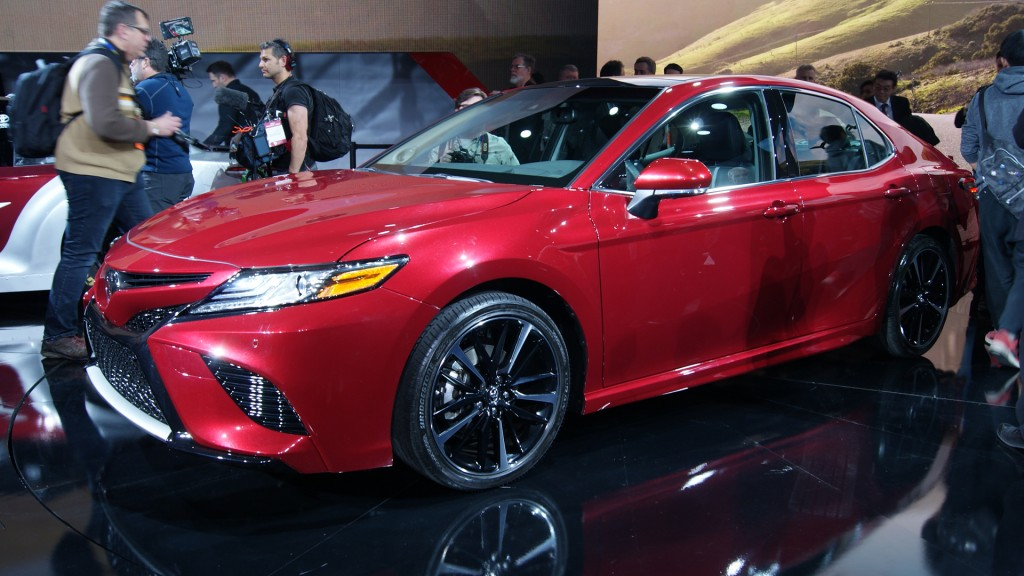 Toyota Camry is all new for 2018