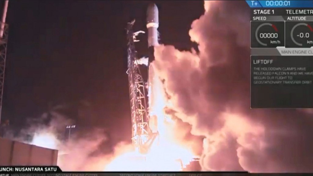 Israel's privately funded moon mission lifts off