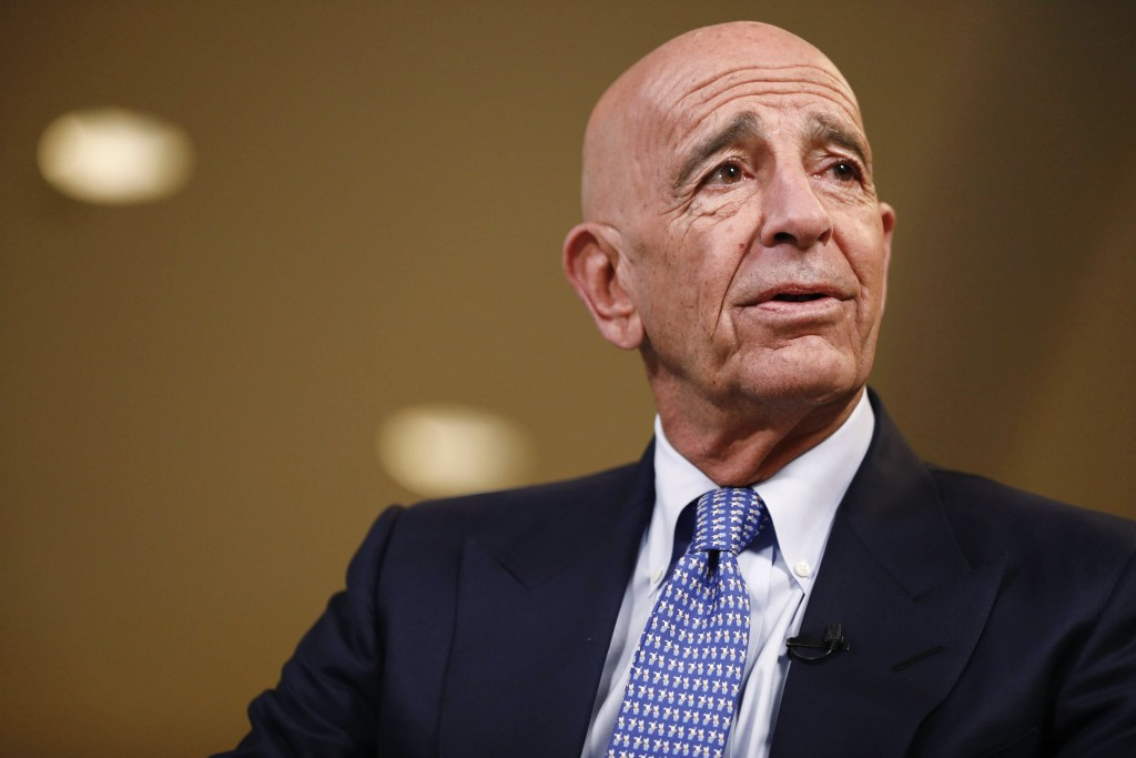 Tom Barrack, CEO and Trump friend, drops out of Saudi conference