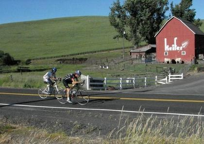 Seattle Times features bicycling on the Palouse in their Outdoors section