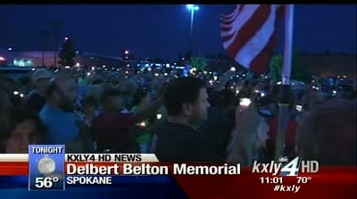 """Hundreds gather to remember and honor the life of Delbert """"Shorty"""" Belton"""