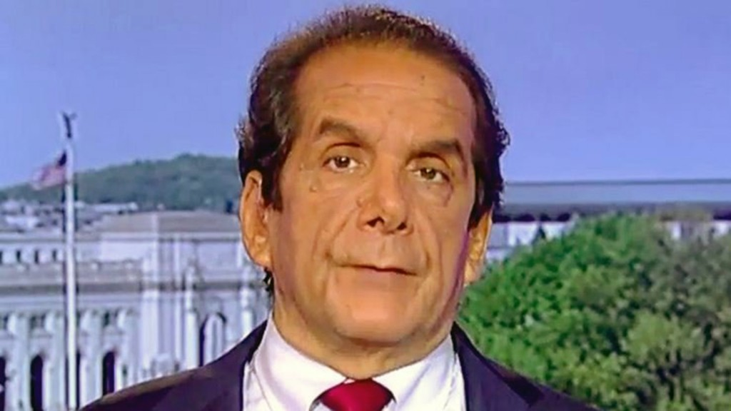 Charles Krauthammer, legendary conservative intellectual, dies at 68