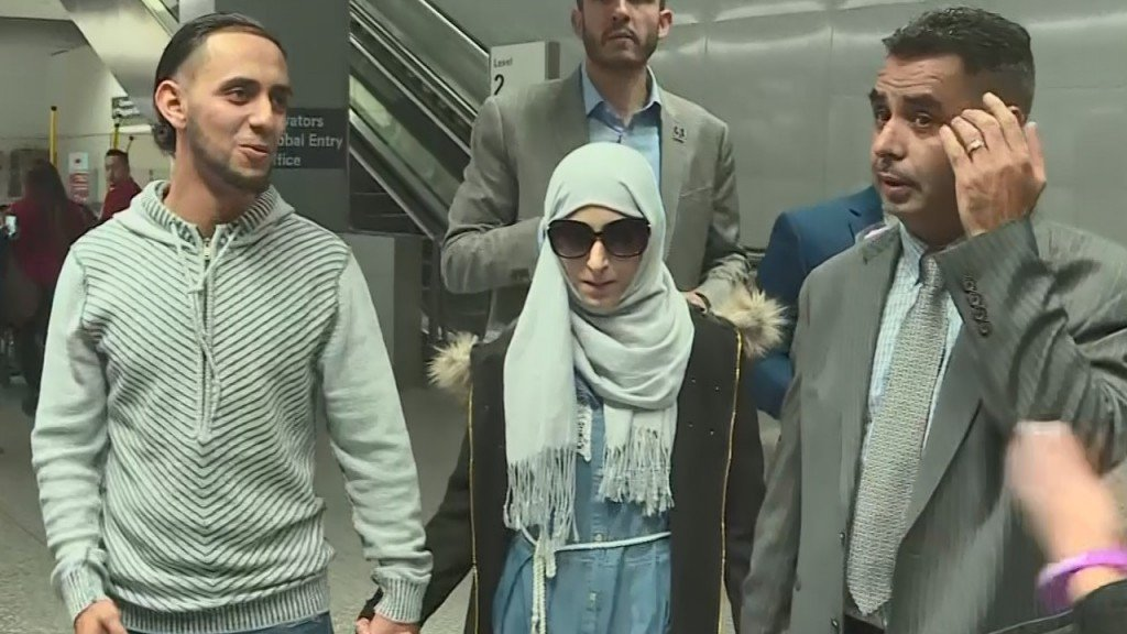 Yemeni mother arrives in US to see her dying son