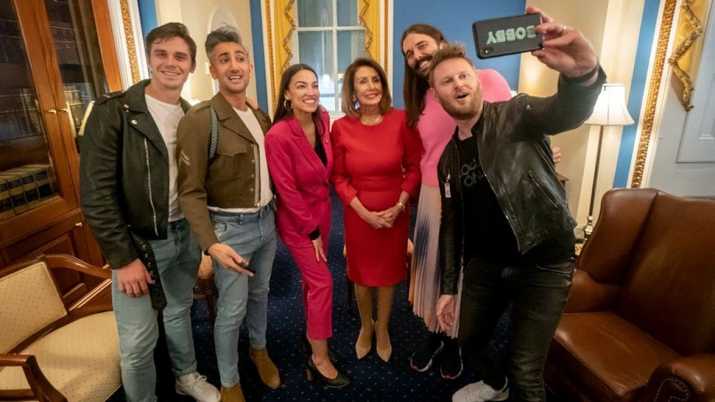 'Queer Eye' cast meets with lawmakers on Capitol Hill