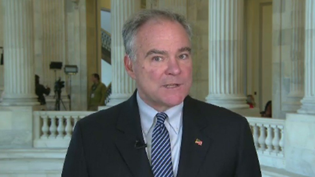 Tim Kaine: Comey's Lynch comments 'pretty much irrelevant'