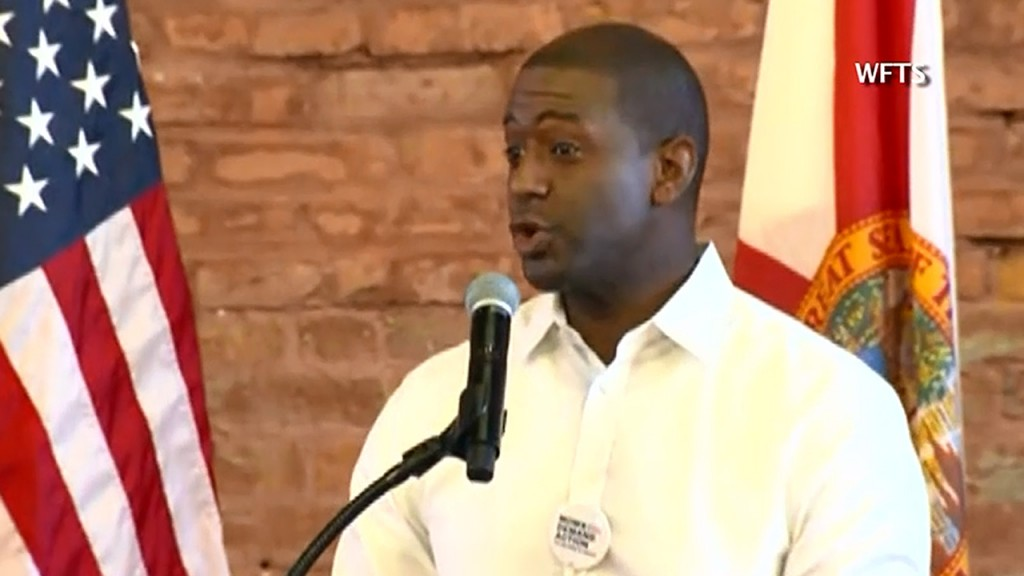 Gillum launches voter registration drive in Florida
