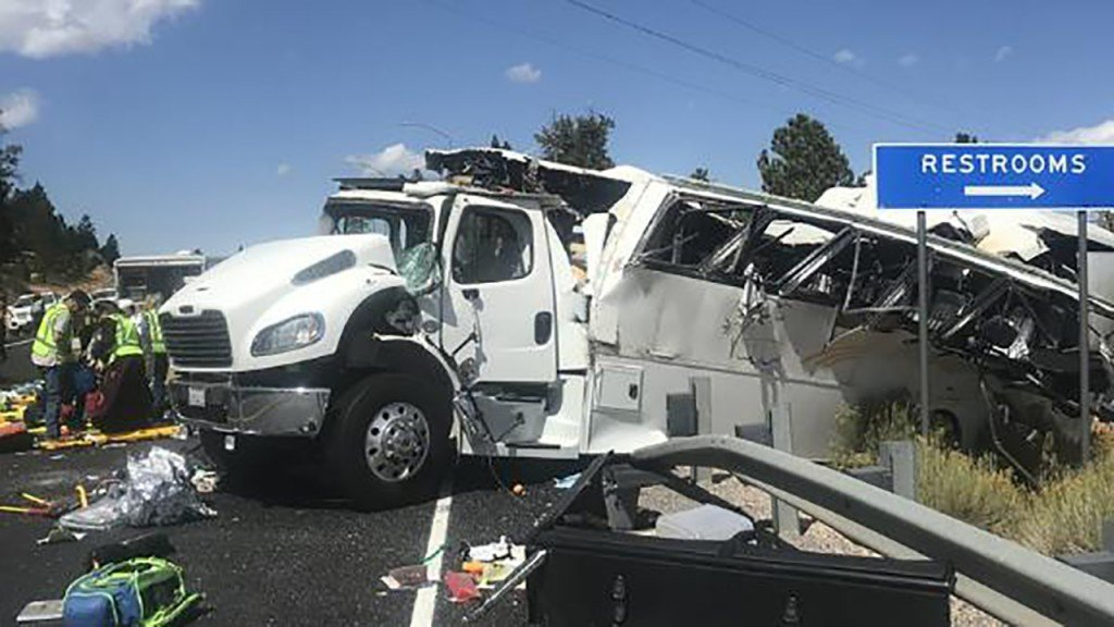 Driver of Utah tour bus that crashed was on first trip with company