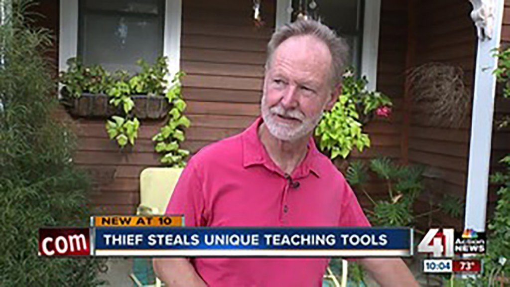 Instructor loses cherished marbles in car theft