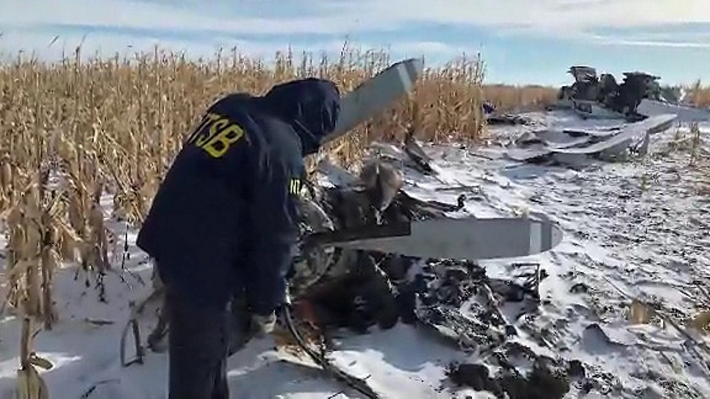 NTSB: Pilot in South Dakota crash had OK to fly in limited visibility