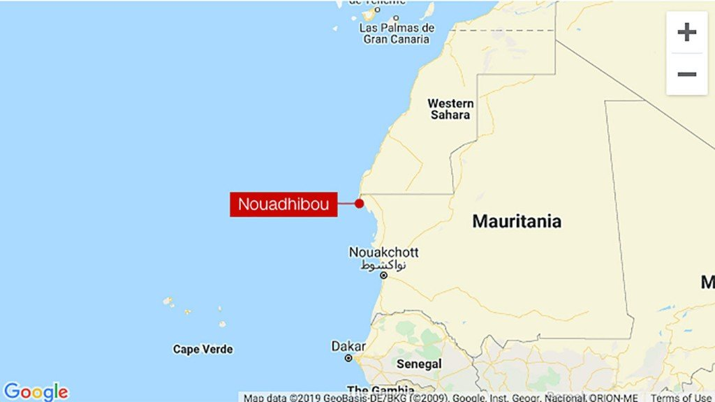 At least 58 people killed as boat sinks off Mauritania coast