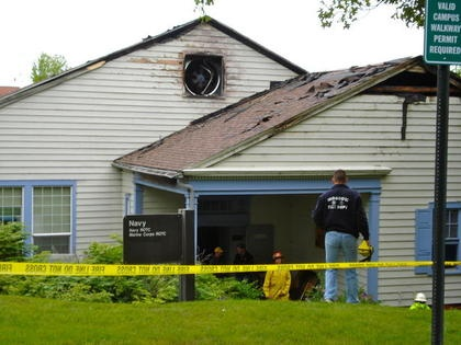 Remnants Of Afternoon Barbeque Spark Fire At University of Idaho
