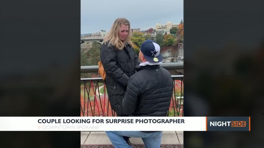 Spokane couple searching for photographer who caught their proposal