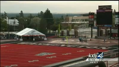 EWU prepares to kick off college football at the Inferno