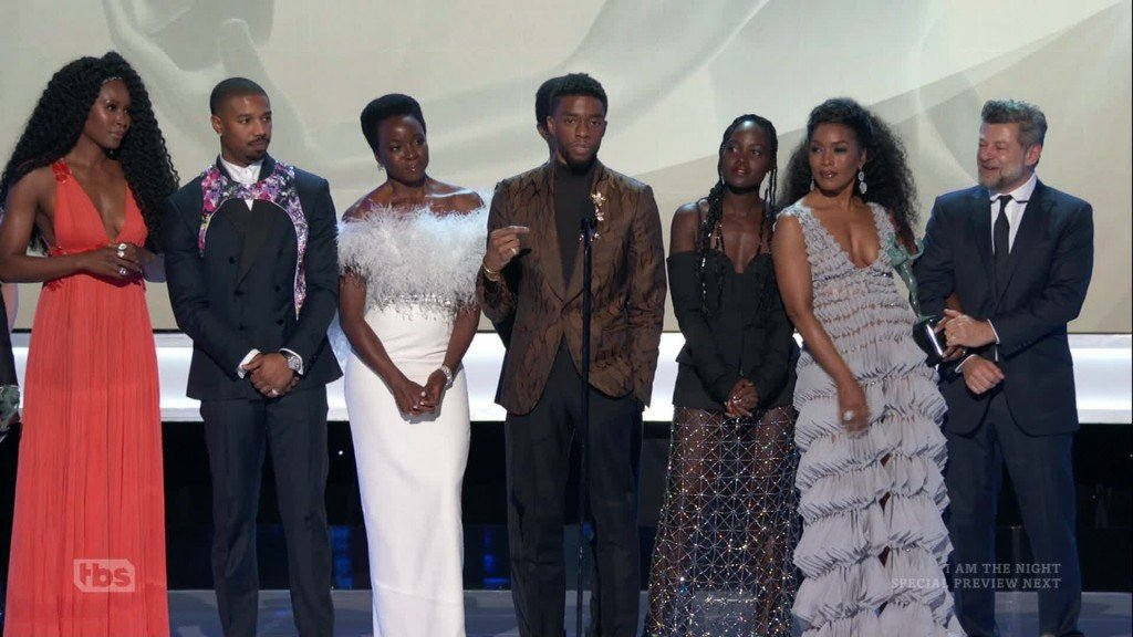 'Black Panther' win at SAG Awards has us ready for a sequel