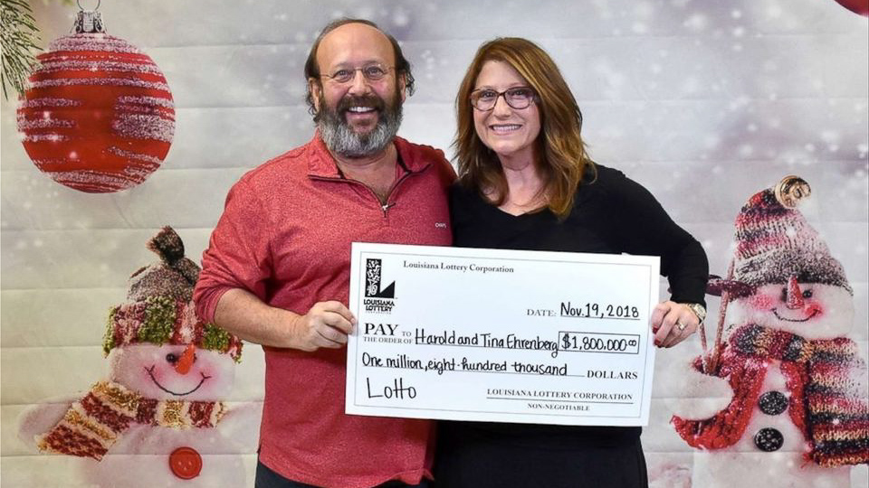 Couple finds $1.8M winning lottery ticket while cleaning