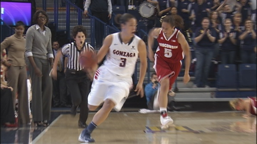 GU women battle back to beat Wisconsin, 62-53