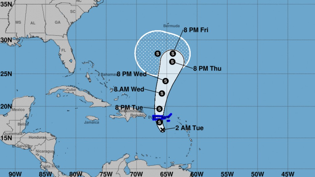 Tropical Depression Karen may strengthen again