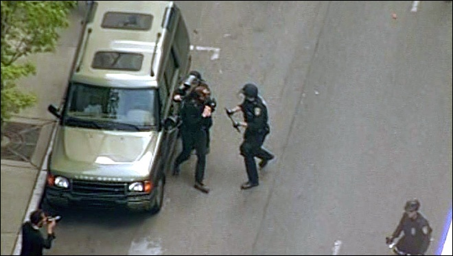'May Day' protests turn violent in Downtown Seattle