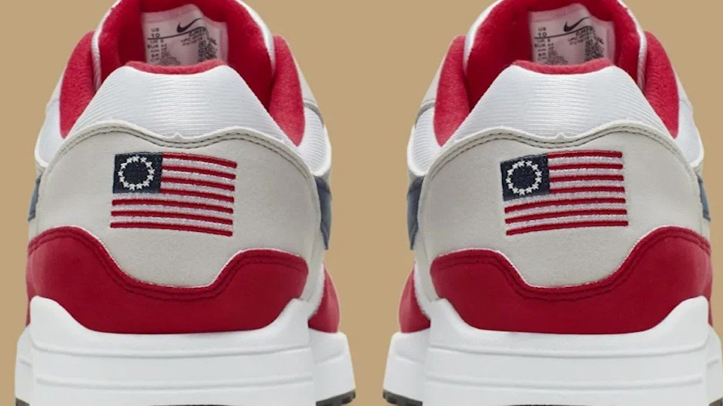 Arizona governor still welcomes Nike despite flap over 'Betsy Ross' shoes