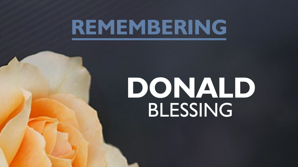 Donald Blessing