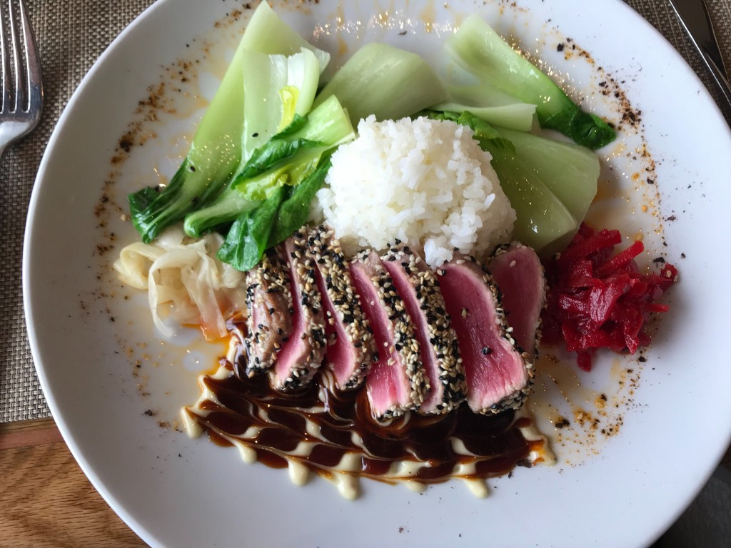 Ahi Tuna From Beverlys In Cda