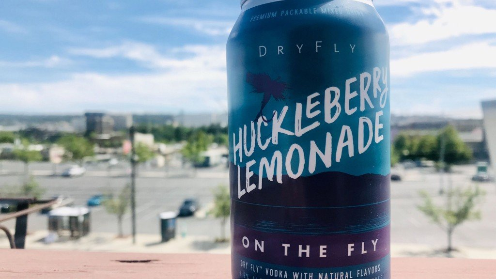 Dry Fly Huckleberry Lemonade