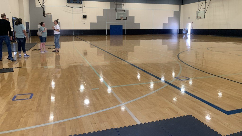 Catholic Charities uses Gonzaga Prep gym for shelter
