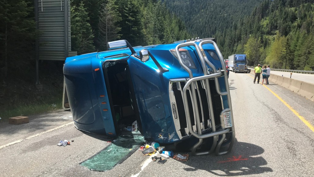 I90 Idaho Semi Crash