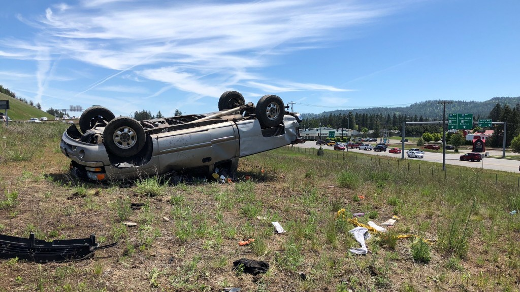 I90 Post Falls Crash 1