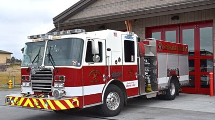 Spokane Valley Fire Department Truck