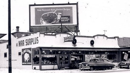 White Elephant store in 1950