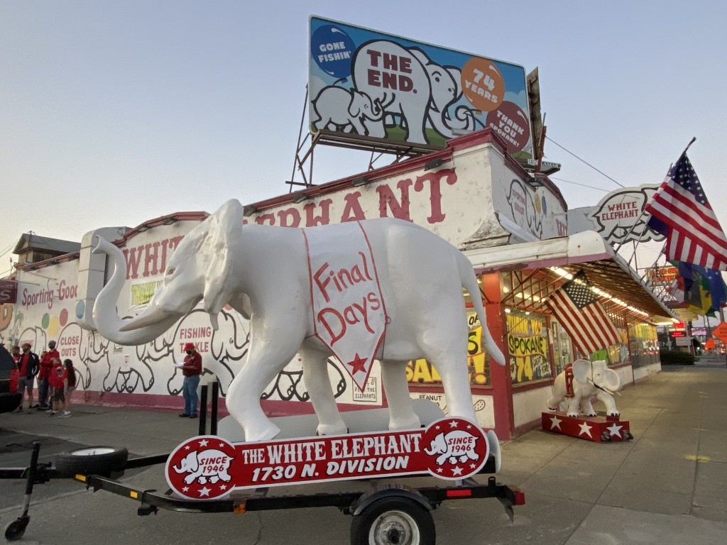 White Elephant in its final days