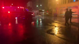 DC: PROTESTS- MILITARY PERSONNEL INJURED BY LIGHTNING STRIKE