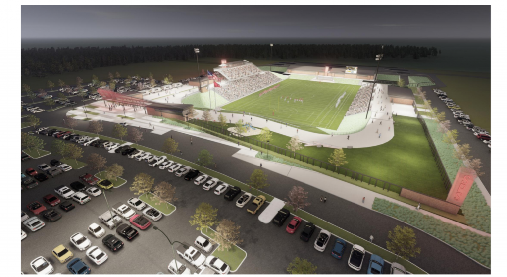 ALSC Architects has prepared a design plan for the new Joe Albi Stadium