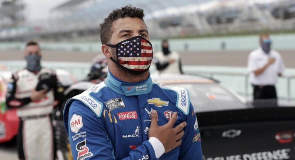 NASCAR reports that a noose was found in the garage stall of Bubba Wallace, the only fulltime black driver in NASCAR's elite cup series Sunday