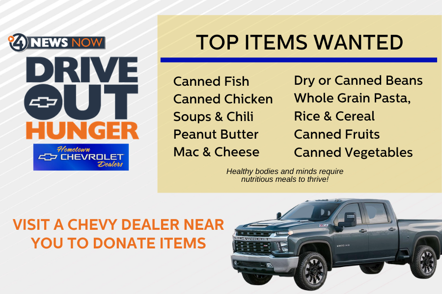 Chevy Drive Out Hunger Items Needed Rev2