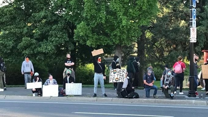Spokane Protest
