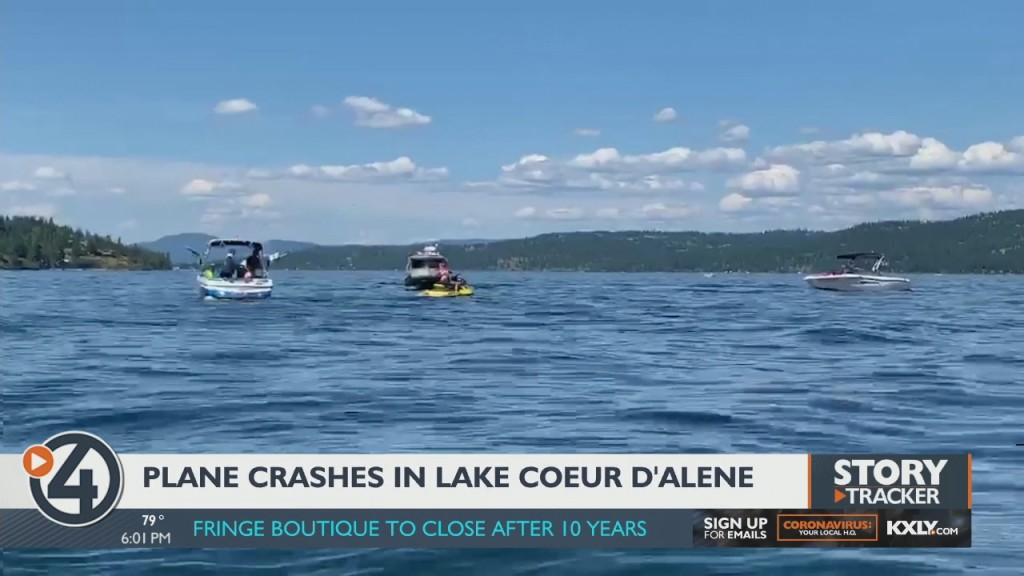 Plane Crashes In Lake Coeur D'alene