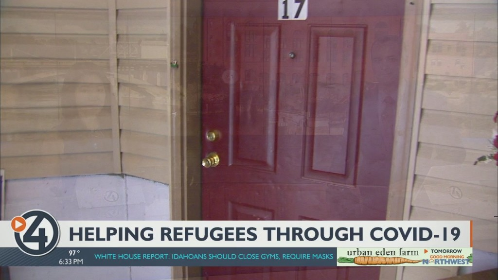 Helping Refugees Through Covid 19