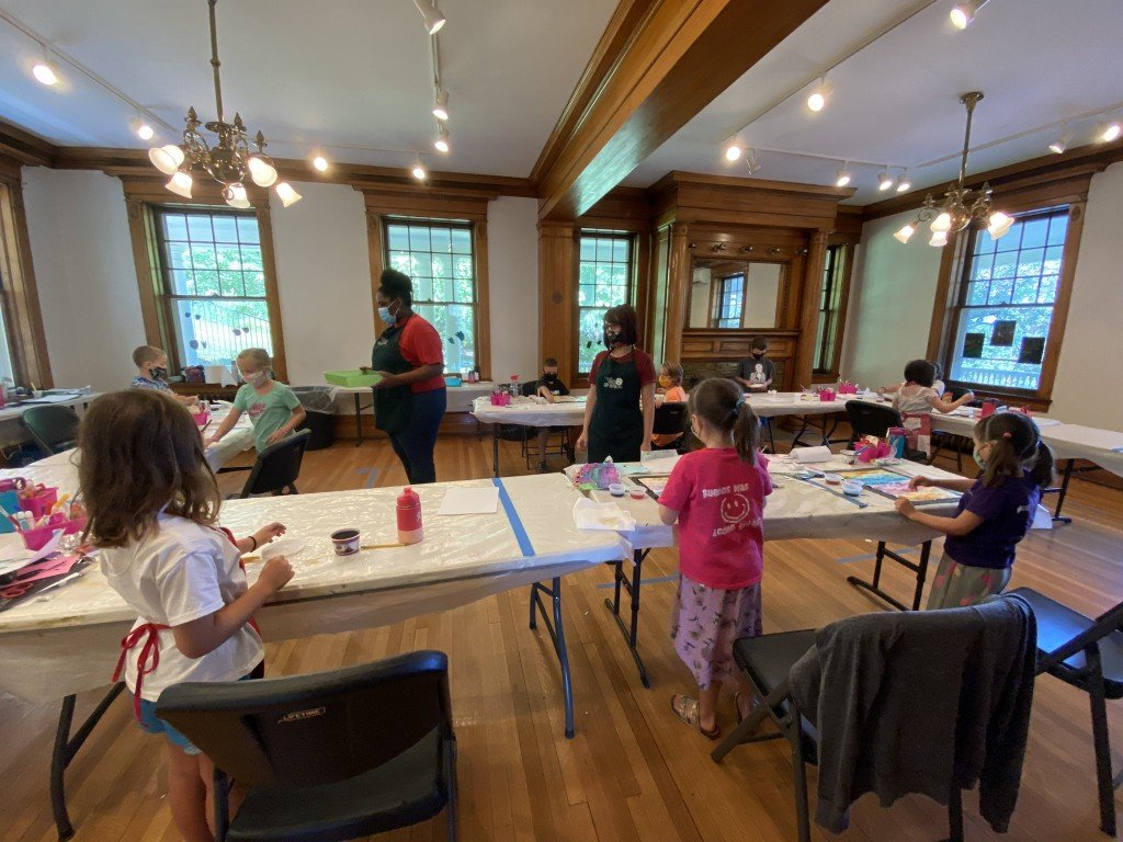 Beat the heat this August and sign your kids up for art camp at the Corbin Art Center.
