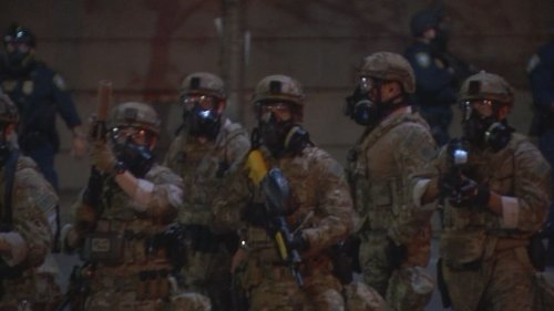 Gov. Brown Announces Plan For Most Federal Officers To Leave Portland