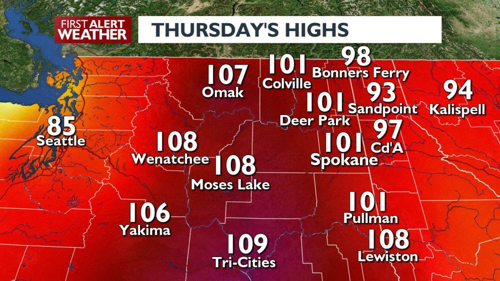 Thursday Highs