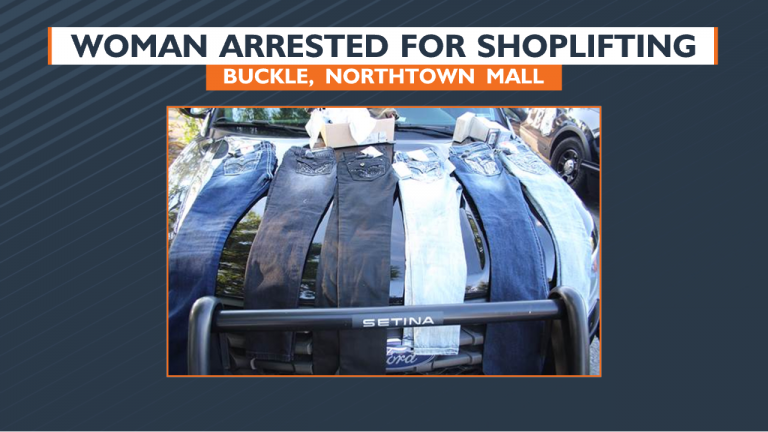Woman Arrested For Robbing Buckle At Northtown Mall