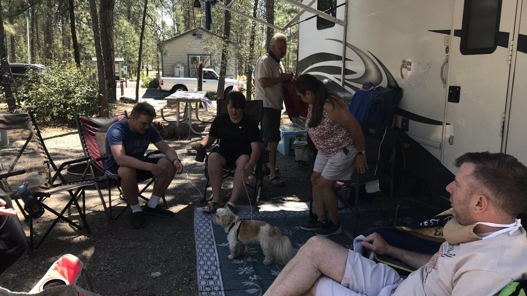 Camping During Covid Riverside State Park