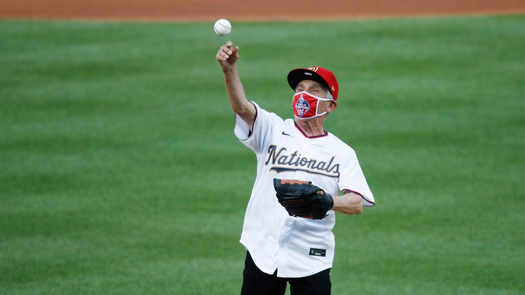 Dr. Anthony Fauci kicked off the MLB season with a questionable first pitch