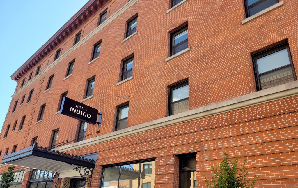 HOTEL INDIGO OPENS FOR BUSINESS