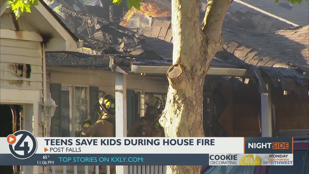 Young Couple Pulls Children From Burning Post Falls Home